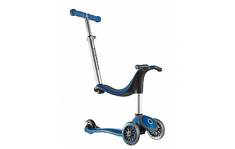 image of Globber 4in1 Junior Scooter, Blue