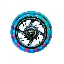 image of Globber Multicolour Lightning Wheel Set (Front Pair)