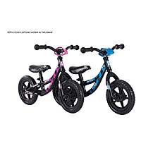 image of Bumper Bumble Run Kids Bike Bumper Black with Blue and Pink Sticker Sets