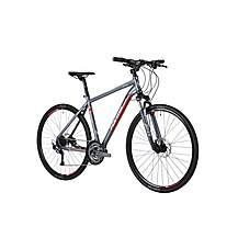 image of Forme Peak Trail 1 700c Hybrid Mens Bike 2015 Grey / Red