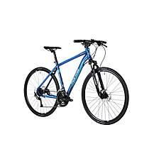 image of Forme Peak Trail 2 700c Hybrid Mens Bike 2015 Navey / Blue