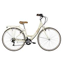 image of Freespirit Discover Ladies Womens 700c Hybrid Bike Cream