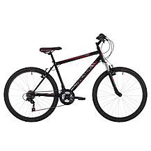 image of Freespirit Tracker Plus 26in Mens Mtb Mountain Bike Black/grey/red