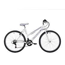 image of Freespirit Tracker Ladies Mtb Mountain Bike White/purple