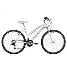 image of Freespirit Tracker Plus Ladies Mtb Mountain Bike White/turquoise