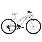 image of Freespirit Tracker Plus Ladies Mtb Mountain Bike White/turquoise