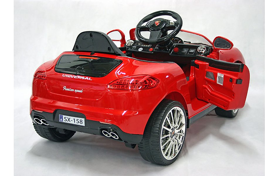 Electric Car Luxury Suv Volt Red