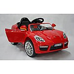 image of Kids Electric Car Luxury Suv 12 Volt Red