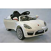 image of Kids Electric Car Luxury SUV 6 Volt White
