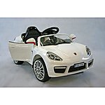 image of Kids Electric Car Luxury Suv 12 Volt White