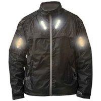 Visijax Commuter LED Indicator Jacket - Black, Medium