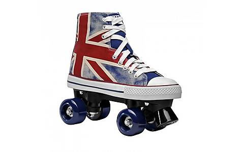 image of Roces Chuck Classic Roller Skates, Union Jack, UK 5