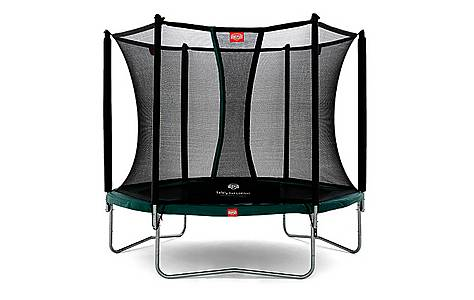 image of BERG 8ft Talent 240 Trampoline with Safety Net Comfort