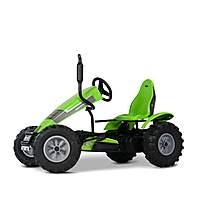 image of BERG Deutz Fahr BFR Tractor Pedal Go Kart - Green