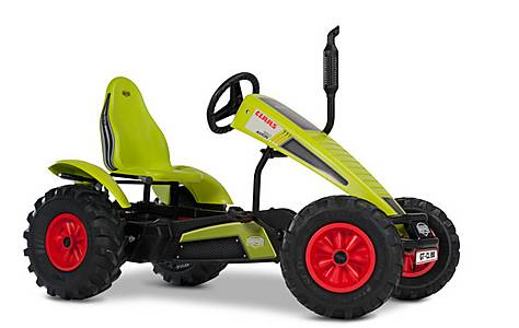 image of BERG Claas BFR Tractor Pedal Go Kart - Green