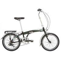 Indigo Flip 7, Folding Bike, 7 speed, Unisex, Black