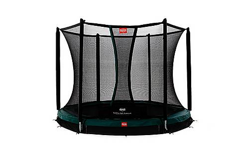 image of BERG 8ft InGround Talent 240 Trampoline with Safety Net Comfort
