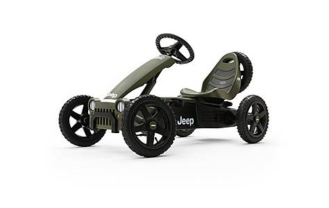 image of BERG Jeep Adventure Pedal Go Kart