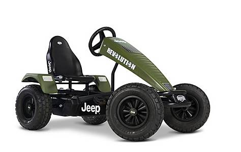 image of BERG Jeep Revolution BFR Pedal Go Kart