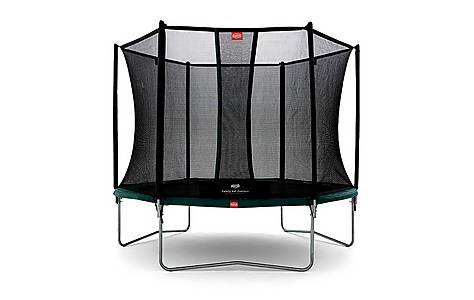 image of BERG 10ft Talent 300 Trampoline with Safety Net Comfort