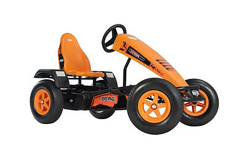 image of BERG X-Cross BFR Pedal Go Kart - Orange