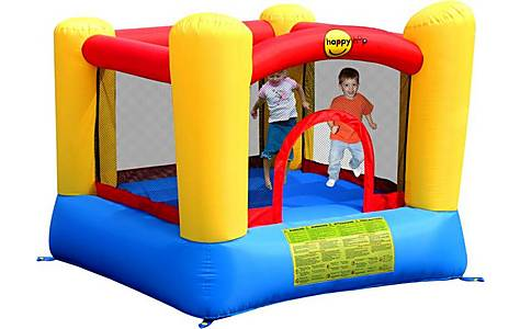 image of Duplay Happy Hop Childrens Garden Inflatable Bouncy Castle 9003