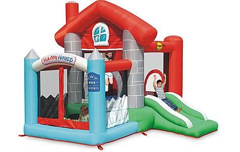 image of Happy House Bouncy Castle Den 9315