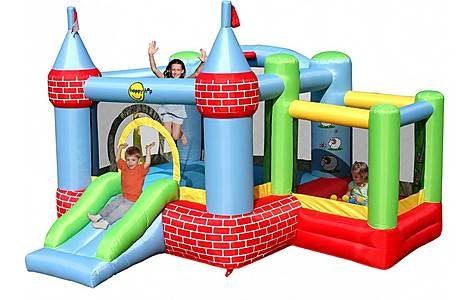 image of Bouncy Castle with Farmyard Ballpool 9112