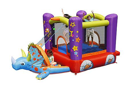 image of Dino's Playhouse Inflatable Bouncy Castle