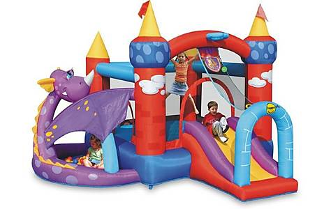 image of Dragon Quest Bouncy Castle With Slide 9022