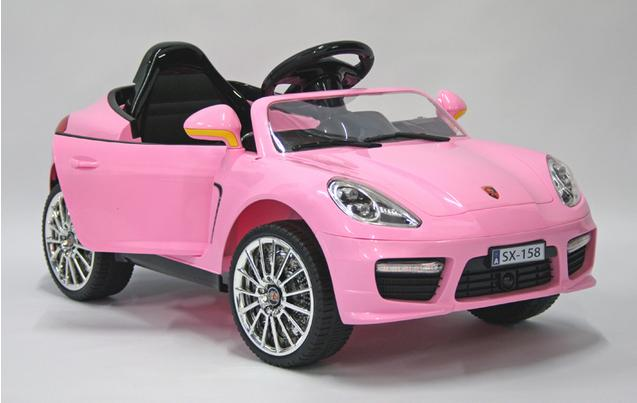 kids electric car luxury suv 12 volt pink