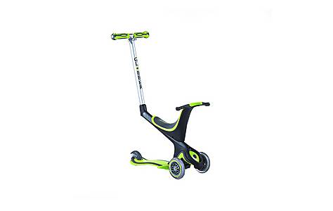 image of Globber 5 in 1 Junior Scooter - Green