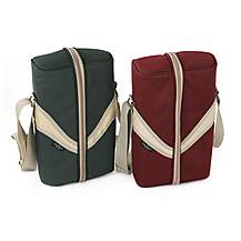 image of Greenfield Collection Deluxe Wine Cooler Bag For Two People