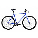 image of Feral Fixie, Single Speed, Fixed Gear Bike, Blue