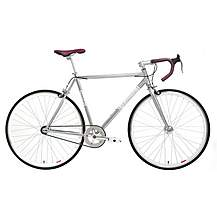 image of Kingston Hoxton Fixie, Single Speed, Fixed Gear Bike, 50cm