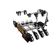 image of ZX304 Clamp-On Towball Mounted 4 Bike Cycle Carrier