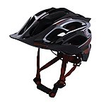 image of KENNY-RACING HELMET ENDURO S2 SIZE M BLACK/SILVER/RED