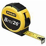 image of Stanley 8 Metre Tape Measure 0-30-656