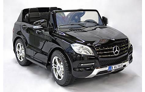 image of Kids Electric Car Mercedes Benz M Class Twin Seat 12 Volt Black Gloss