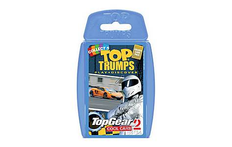 image of Top Trumps - Top Gear Cool Cars 2 Card Game