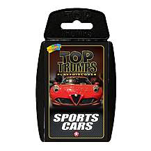 image of Top Trumps - Sport Cars Card Game