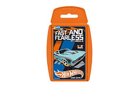 image of Top Trumps - Hot Wheels Card Game