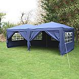 Airwave Pop Up Gazebo Fully Waterproof 6x3m