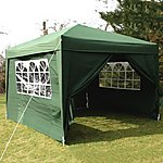 image of Airwave Pop Up Gazebo Fully Waterproof 3x3m