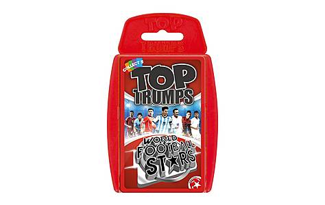 image of Top Trumps - World Football Stars 2016 Card Game