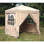 Airwave Pop Up Gazebo Fully Waterproof 2x2m