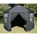 Airwave Hexagonal Pop Up Gazebo Fully Waterproof 3.5m