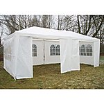 image of Airwave Party Tent Marquee Fully Waterproof With Windbars - 6x3m