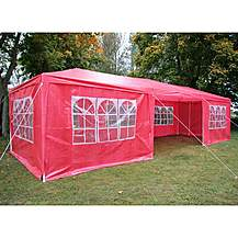 image of Airwave Party Tent Marquee Fully Waterproof With Windbars - 9x3m