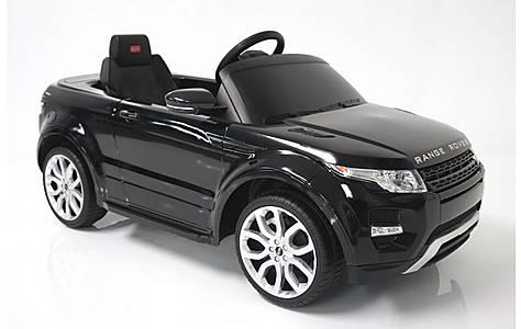 image of Kids Electric Car Range Rover Evoque 12 Volt Black Gloss